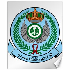 Emblem Of The Royal Saudi Air Force  Canvas 11  X 14