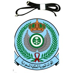 Emblem Of The Royal Saudi Air Force  Shoulder Sling Bags by abbeyz71
