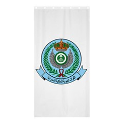 Emblem Of The Royal Saudi Air Force  Shower Curtain 36  X 72  (stall)  by abbeyz71