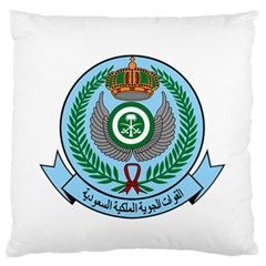 Emblem Of The Royal Saudi Air Force  Standard Flano Cushion Case (one Side) by abbeyz71