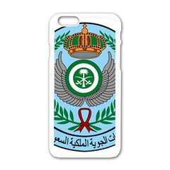 Emblem Of The Royal Saudi Air Force  Apple Iphone 6/6s White Enamel Case