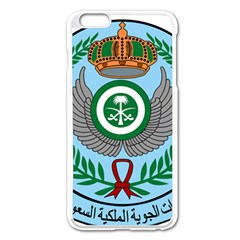 Emblem Of The Royal Saudi Air Force  Apple Iphone 6 Plus/6s Plus Enamel White Case by abbeyz71