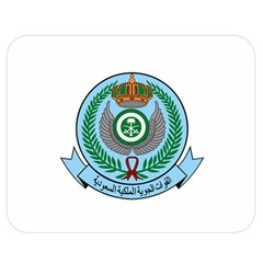 Emblem Of The Royal Saudi Air Force  Double Sided Flano Blanket (medium)