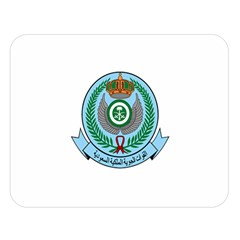 Emblem Of The Royal Saudi Air Force  Double Sided Flano Blanket (large)