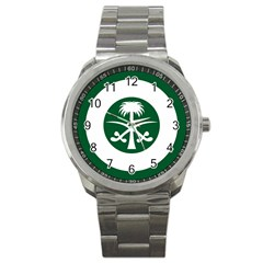 Roundel Of The Royal Saudi Air Force Sport Metal Watch by abbeyz71