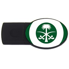 Roundel Of The Royal Saudi Air Force Usb Flash Drive Oval (4 Gb)  by abbeyz71