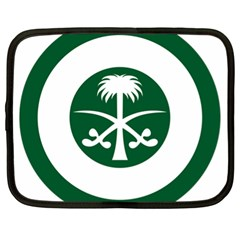 Roundel Of The Royal Saudi Air Force Netbook Case (xl)  by abbeyz71