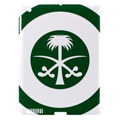 Roundel Of The Royal Saudi Air Force Apple Ipad 3/4 Hardshell Case (compatible With Smart Cover) by abbeyz71