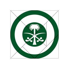 Roundel Of The Royal Saudi Air Force Acrylic Tangram Puzzle (4  X 4 ) by abbeyz71