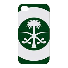 Roundel Of The Royal Saudi Air Force Apple Iphone 4/4s Premium Hardshell Case by abbeyz71