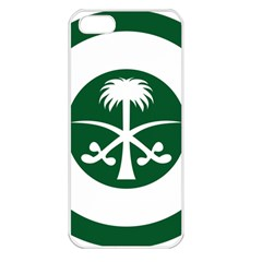 Roundel Of The Royal Saudi Air Force Apple Iphone 5 Seamless Case (white)