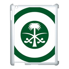 Roundel Of The Royal Saudi Air Force Apple Ipad 3/4 Case (white)