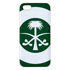 Roundel Of The Royal Saudi Air Force Apple Iphone 5 Premium Hardshell Case