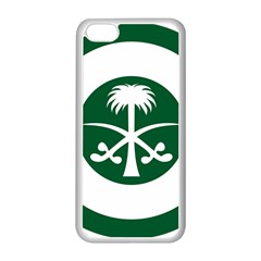 Roundel Of The Royal Saudi Air Force Apple Iphone 5c Seamless Case (white)