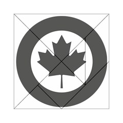 Low Visibility Roundel Of The Royal Canadian Air Force Acrylic Tangram Puzzle (6  X 6 ) by abbeyz71