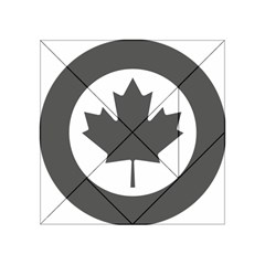 Low Visibility Roundel Of The Royal Canadian Air Force Acrylic Tangram Puzzle (4  X 4 ) by abbeyz71