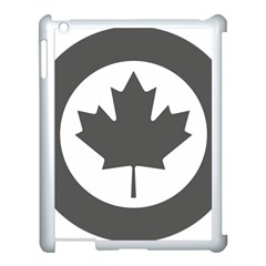 Low Visibility Roundel Of The Royal Canadian Air Force Apple Ipad 3/4 Case (white)