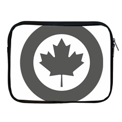 Low Visibility Roundel Of The Royal Canadian Air Force Apple Ipad 2/3/4 Zipper Cases by abbeyz71