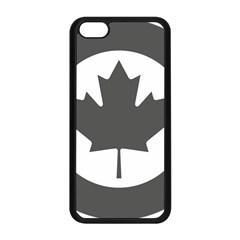 Low Visibility Roundel Of The Royal Canadian Air Force Apple Iphone 5c Seamless Case (black)