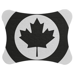 Low Visibility Roundel Of The Royal Canadian Air Force Jigsaw Puzzle Photo Stand (bow) by abbeyz71