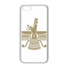 Stylized Faravahar  Apple Iphone 5c Seamless Case (white) by abbeyz71