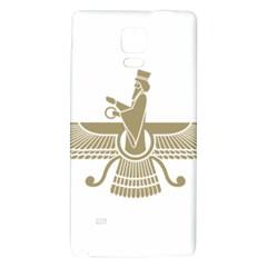 Stylized Faravahar  Galaxy Note 4 Back Case by abbeyz71