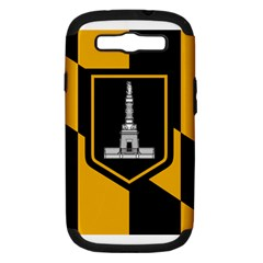Flag Of Baltimore Samsung Galaxy S Iii Hardshell Case (pc+silicone) by abbeyz71