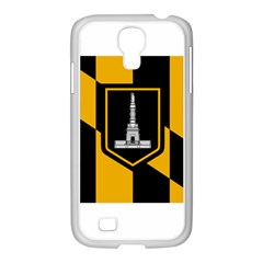 Flag Of Baltimore Samsung Galaxy S4 I9500/ I9505 Case (white)