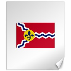 Flag Of St Canvas 20  X 24   by abbeyz71