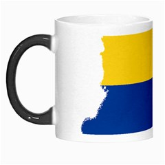 Flag Map Of Colombia Morph Mugs