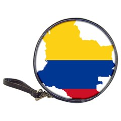 Flag Map Of Colombia Classic 20 Cd Wallets
