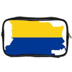 Flag Map Of Colombia Toiletries Bags