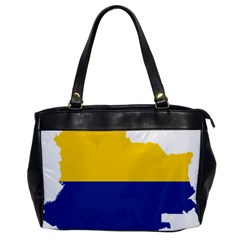 Flag Map Of Colombia Office Handbags