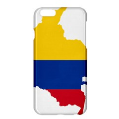 Flag Map Of Colombia Apple Iphone 6 Plus/6s Plus Hardshell Case
