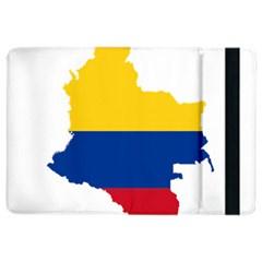 Flag Map Of Colombia Ipad Air 2 Flip by abbeyz71