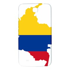 Flag Map Of Colombia Samsung Galaxy Mega I9200 Hardshell Back Case