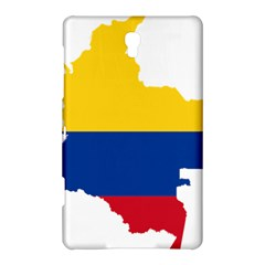 Flag Map Of Colombia Samsung Galaxy Tab S (8 4 ) Hardshell Case  by abbeyz71