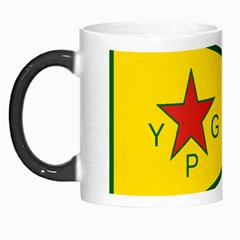 Flag Of The People s Protection Units Morph Mugs