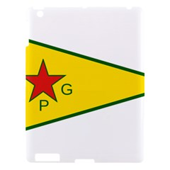 Flag Of The People s Protection Units Apple Ipad 3/4 Hardshell Case by abbeyz71