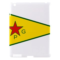 Flag Of The People s Protection Units Apple Ipad 3/4 Hardshell Case (compatible With Smart Cover) by abbeyz71