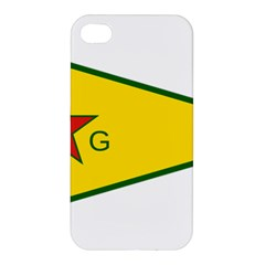 Flag Of The People s Protection Units Apple Iphone 4/4s Premium Hardshell Case by abbeyz71