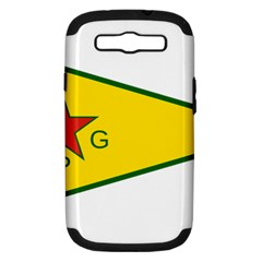 Flag Of The People s Protection Units Samsung Galaxy S Iii Hardshell Case (pc+silicone)
