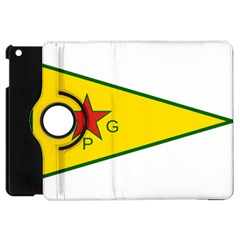 Flag Of The People s Protection Units Apple Ipad Mini Flip 360 Case by abbeyz71