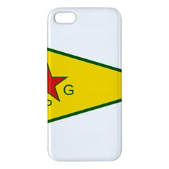 Flag Of The People s Protection Units Apple Iphone 5 Premium Hardshell Case by abbeyz71