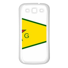 Flag Of The People s Protection Units Samsung Galaxy S3 Back Case (white) by abbeyz71