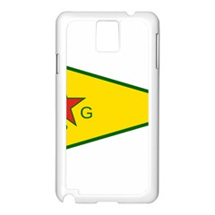 Flag Of The People s Protection Units Samsung Galaxy Note 3 N9005 Case (white) by abbeyz71