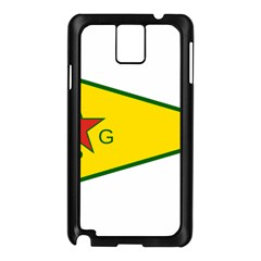 Flag Of The People s Protection Units Samsung Galaxy Note 3 N9005 Case (black) by abbeyz71