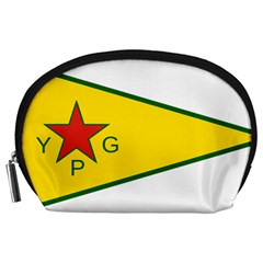 Flag Of The People s Protection Units Accessory Pouches (large)  by abbeyz71