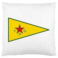 Flag Of The People s Protection Units Standard Flano Cushion Case (two Sides) by abbeyz71