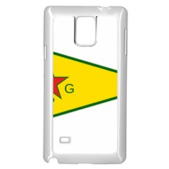 Flag Of The People s Protection Units Samsung Galaxy Note 4 Case (white) by abbeyz71